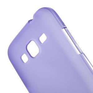 Fialový matný gelový kryt Samsung Galaxy Core Prime - 3