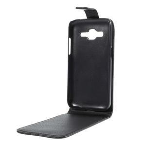 Flipové pouzdro Samsung Galaxy Core Prime - černé - 3