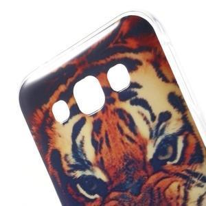Gelový obal na mobil Samsung Galaxy E5 - tygr - 3