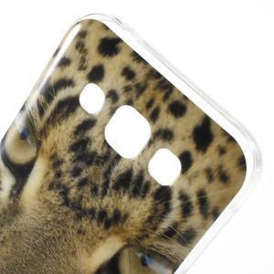 Gelový obal na mobil Samsung Galaxy E5 - leopard - 3