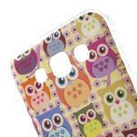 Gelový obal na mobil Samsung Galaxy E5 - sovičky - 3/5