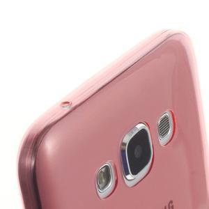 Ulta tenký obal na Samsung Galaxy E7 - červený - 3