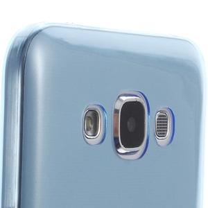 Ulta tenký obal na Samsung Galaxy E7 - modrý - 3