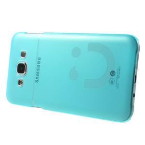Plastový kryt na mobil Samsung Galaxy E7 - tyrkysový - 3