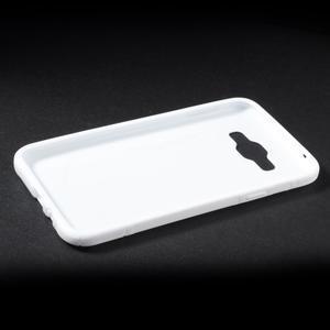 S-line gelový obal na Samsung Galaxy E7 - bílý - 3
