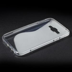 S-line gelový obal na Samsung Galaxy E7 - transparentní - 3