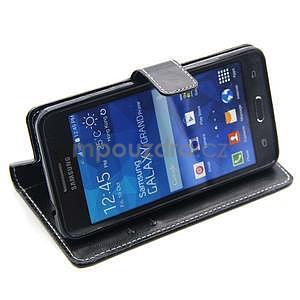 Černé pouzdro na Samsung Galaxy Grand Prime - 3