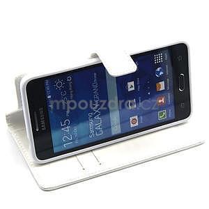 Bílé pouzdro na Samsung Galaxy Grand Prime - 3