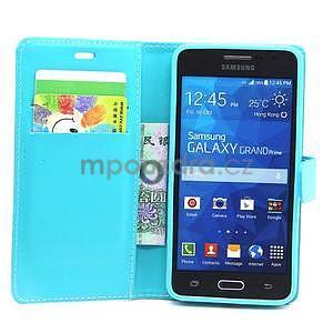 Tyrkysové pouzdro na Samsung Galaxy Grand Prime - 3