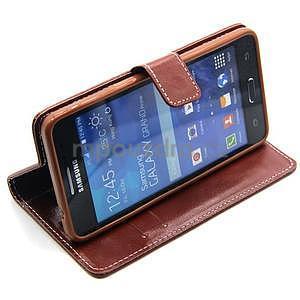 Hnědé pouzdro na Samsung Galaxy Grand Prime - 3