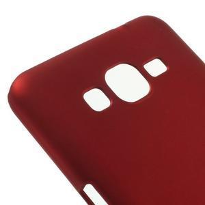 Pogumovaný kryt pro Samsung Galaxy Grand Prime - červený - 3