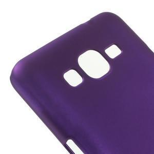 Pogumovaný kryt pro Samsung Galaxy Grand Prime - fialový - 3