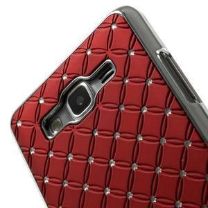 Červený drahokamový kryt na Samsung Grand Prime - 3