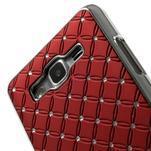 Červený drahokamový kryt na Samsung Grand Prime - 3/6
