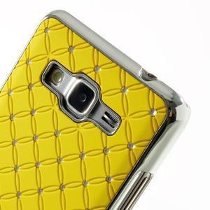 Žlutý drahokamový kryt na Samsung Grand Prime - 3
