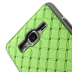Zelený drahokamový kryt na Samsung Grand Prime - 3