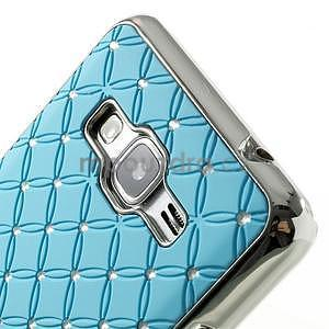 Tyrkysový drahokamový kryt na Samsung Grand Prime - 3