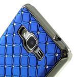 Modrý drahokamový kryt na Samsung Grand Prime - 3/6