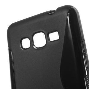 S-line gelový obal na Samsung Galaxy Grand Prime - černý - 3