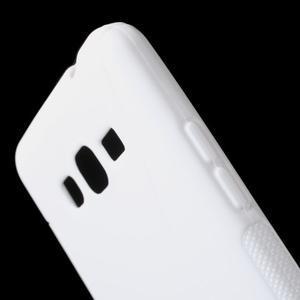 S-line gelový obal na Samsung Galaxy Grand Prime - bílý - 3