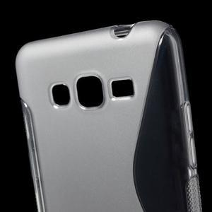 S-line gelový obal na Samsung Galaxy Grand Prime - šedý - 3