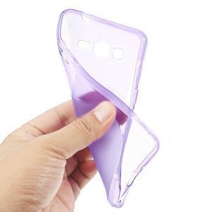 S-line gelový obal na Samsung Galaxy Grand Prime - fialový - 3