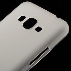 Transparentní matný gelový obal pro Samsung Galaxy Grand Prime - 3