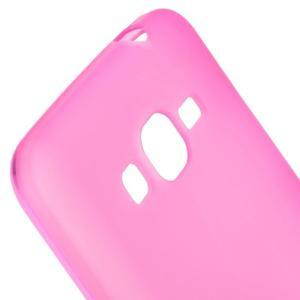 Rose matný gelový obal pro Samsung Galaxy Grand Prime - 3