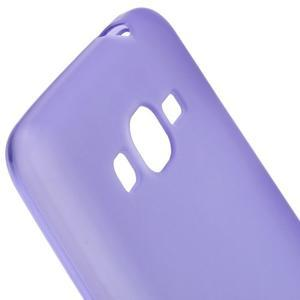 Fialový matný gelový obal pro Samsung Galaxy Grand Prime - 3