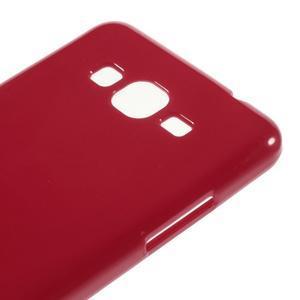 Gelový kryt na Samsung Galaxy Grand Prime - červený - 3