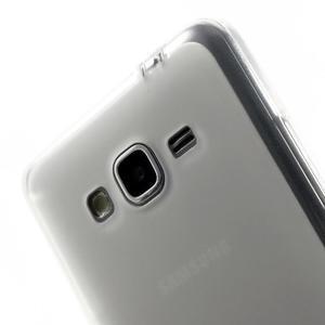 Oboustranně matný kryt na Samsung Galaxy Grand Prime - bílý - 3