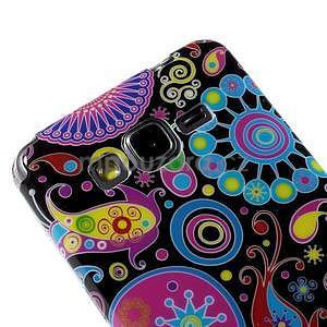 Gelový obal Samsung Galaxy Grand Prime G530H - barevné kruhy - 3