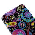 Gelový obal Samsung Galaxy Grand Prime G530H - barevné kruhy - 3/4