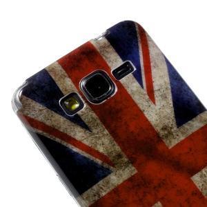 Gelový obal Samsung Galaxy Grand Prime G530H - UK vlajka - 3