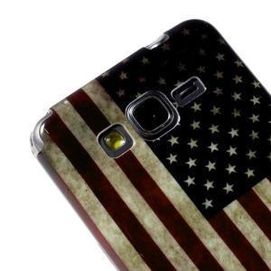 Gelový obal Samsung Galaxy Grand Prime G530H - US vlajka - 3