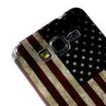 Gelový obal Samsung Galaxy Grand Prime G530H - US vlajka - 3/4
