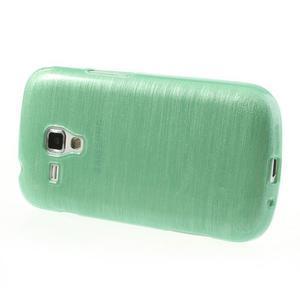 Broušený gelový kryt na Samsung Galaxy S Duos - zelený - 3
