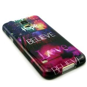 Luxury gelový obal na mobil Samsung Galaxy S5 - believe - 3