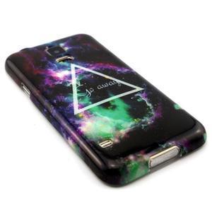 Luxury gelový obal na mobil Samsung Galaxy S5 - triangl - 3