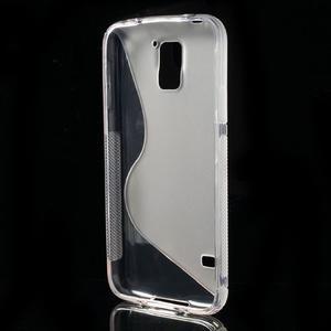 S-line gelový obal na mobil Samsung Galaxy S5 - transparentní - 3