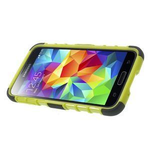 Outdoor odolný kryt na mobil Samsung Galaxy S5 - zelený - 3