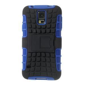 Outdoor odolný kryt na mobil Samsung Galaxy S5 - modrý - 3