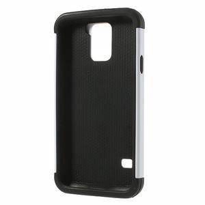 Odolný obal 2v1 na mobil Samsung Galaxy S5 - bílý - 3