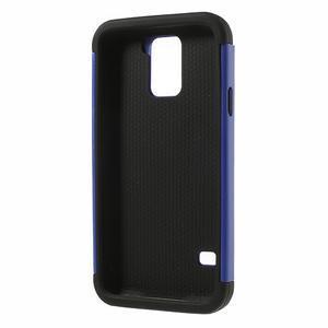 Odolný obal 2v1 na mobil Samsung Galaxy S5 - modrý - 3