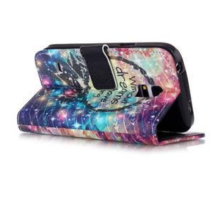 Stand peněženkové pouzdro na Samsung Galaxy S5 mini - dreams - 3