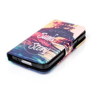 Stand peněženkové pouzdro na Samsung Galaxy S5 mini - příběh - 3