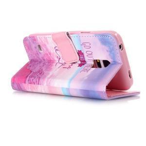 Stand peněženkové pouzdro na Samsung Galaxy S5 mini - myšlenky - 3