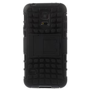 Outdoor odolný obal na mobil Samsung Galaxy S5 mini - černý - 3
