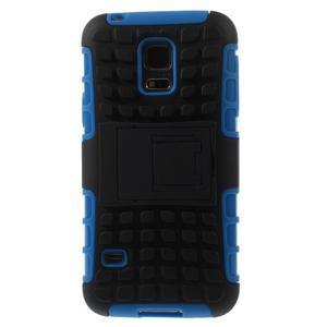 Outdoor odolný obal na mobil Samsung Galaxy S5 mini - modrý - 3