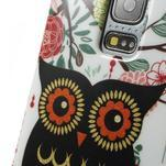 Owls gelový obal na Samsung Galaxy S5 mini - paní sova - 3/4